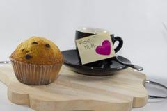 Fond avec le petit déjeuner pour le jour du ` s de mère Photographie stock libre de droits