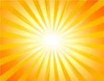 Fond avec le rayon de soleil illustration de vecteur