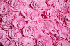 Fond avec le rose de fleurs de papier illustration libre de droits