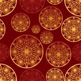 Fond avec les éléments abstraits Image stock