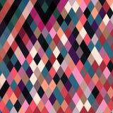 Fond avec les éléments géométriques et abstraits décoratifs Images stock