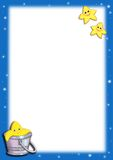 Fond avec les étoiles illustration libre de droits