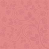 Fond avec les décorations roses Photographie stock