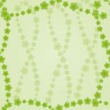 Fond avec les fleurs vertes illustration stock