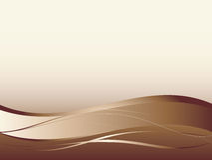 Fond avec les lignes douces abstraites Photo libre de droits