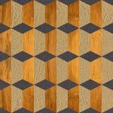 Fond avec les modèles en bois de différentes couleurs Image libre de droits