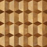 Fond avec les modèles en bois de différentes couleurs Photos libres de droits
