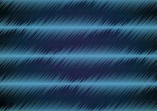 Fond avec les ondes sonores déformées Photo stock