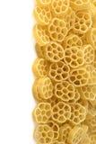 Fond avec les pâtes italiennes Images libres de droits