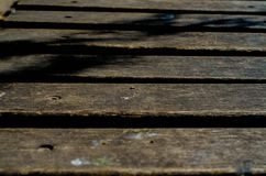 Fond avec les planches en bois Photos libres de droits