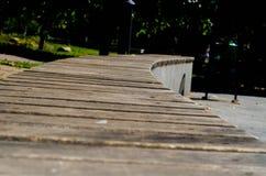 Fond avec les planches en bois Image libre de droits