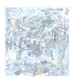 Fond avec les taches bleues et grises illustration de vecteur