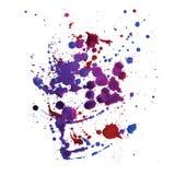 Fond avec les taches colorées Vecteur Photo libre de droits