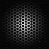Fond avec passion pour la grille noire de musique illustration libre de droits
