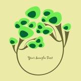 Fond avec un arbre Image libre de droits