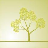Fond avec un arbre Photo libre de droits