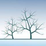Fond avec un arbre Images stock