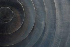Fond balayé d'abrégé sur texture en métal Photo libre de droits