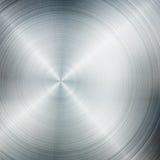 Fond balayé en métal Photo stock