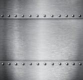 Fond balayé en métal image stock