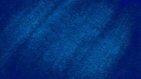Fond balayé par aquarelle bleu-foncé Photos libres de droits