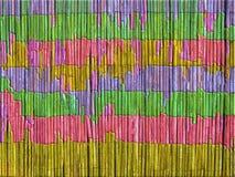 Fond, barrière colorée, de roseau photo libre de droits