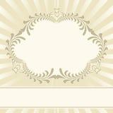 Fond beige Image libre de droits
