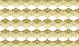 Fond beige d'Argyle Image libre de droits