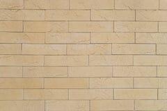 Fond beige de brique Photo libre de droits