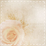 Fond beige de mariage de cru images libres de droits