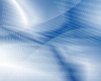 Fond binaire - technologie Photos libres de droits