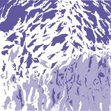 Fond blanc abstrait avec les taches pourpres et lilas illustration libre de droits