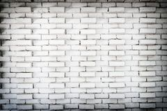 Fond blanc abstrait de mur de briques dans la chambre rurale, blocs rouillés sales de papier peint d'architecture de maçonnerie photo stock