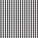 Fond blanc argenté noir de modèle de plaid Images libres de droits