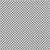 Fond blanc avec le modèle perforé Image stock