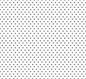 Fond blanc avec le petit modèle de points noir de polka Mod?le sans couture de cercle pour des enfants Fond de d?coration de f?te illustration stock