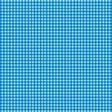 Fond blanc bleu de modèle de plaid Image libre de droits