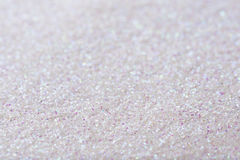 Fond blanc d'abrégé sur giltter de perle Image libre de droits