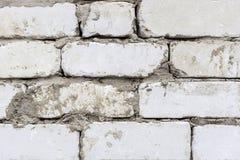 Fond blanc de brique image stock