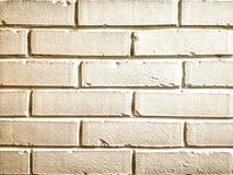 Fond blanc de brique de mur image libre de droits