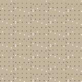 Fond blanc de brun de modèle de plus de brun d'étoile Images stock