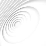 Fond blanc de circulaire d'architecture Conception moderne de construction Image libre de droits