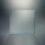 Fond blanc de glace Photographie stock libre de droits