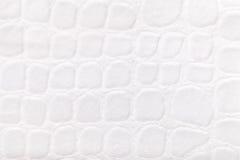 Fond blanc de matériel de textile mou de tapisserie d'ameublement, plan rapproché Tissu avec le modèle Photographie stock