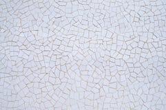 Fond blanc de mosaïque Photographie stock
