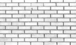 Fond blanc de mur de briques Photos stock