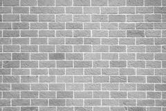 Fond blanc de mur de briques Photographie stock