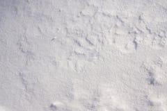 Fond blanc de neige Image libre de droits