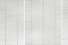 Fond blanc de rideau en tache floue Image libre de droits
