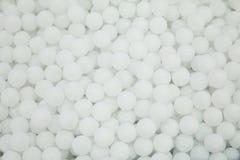 Fond blanc de texture de beaucoup de boules rondes images libres de droits